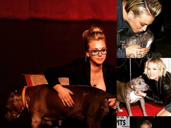 Kaley Cuoco trauert um den verstorbenen Hund ihrer Freundin Rebecca