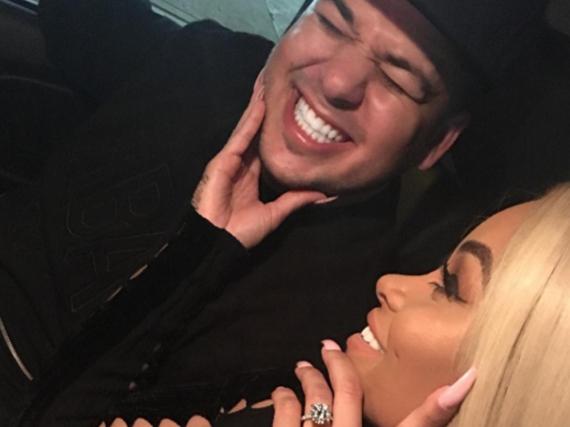 Rob Kardashian und Blac Chyna sind offiziell seit zehn Wochen ein Paar