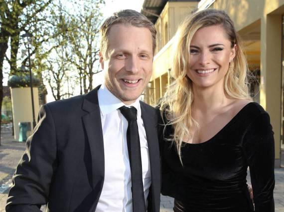 Oliver Pocher und Sophia Thomalla strahlten vor den Fotografen