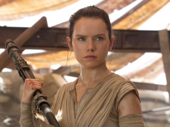 Daisy Ridley wurde für ihre Rolle als Rey in
