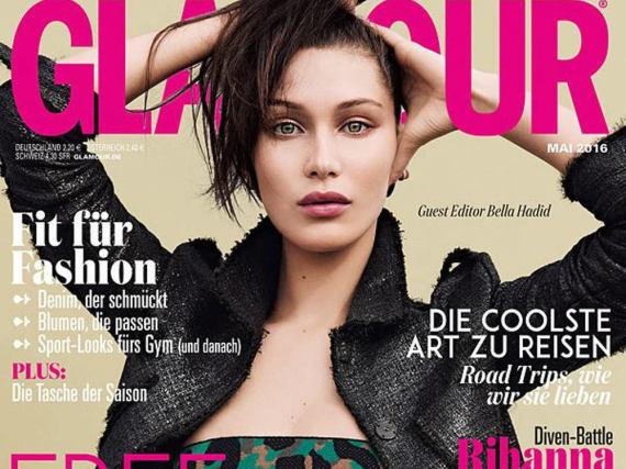 Bella Hadid ziert das neue Cover der deutschen