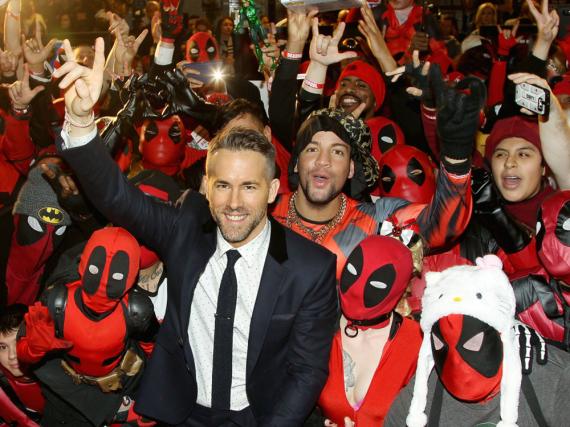 Die Fans waren begeistert von Ryan Reynolds als