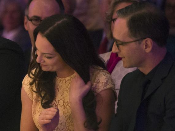 Natalia Wörner und Heiko Maas besuchten gemeinsam das Auftaktkonzert des