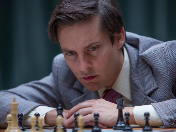Bei Bobby Fischer (Tobey Maguire) liegen Genie und Wahnsinn nahe beieinander