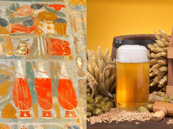 Das Bier begleitet den Menschen schon seit Jahrtausenden