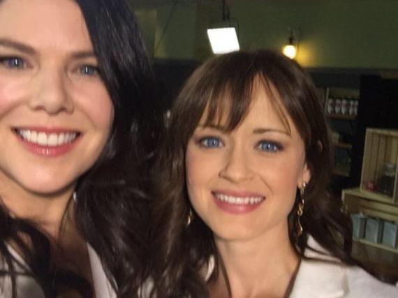 Wiedervereint: Lauren Graham (l.) und Alexis Bledel drehen neue