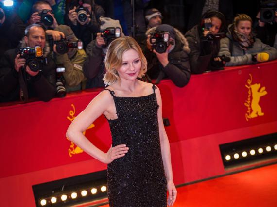Der rote Teppich ist ihre Welt: Kirsten Dunst im Februar bei der Berlinale