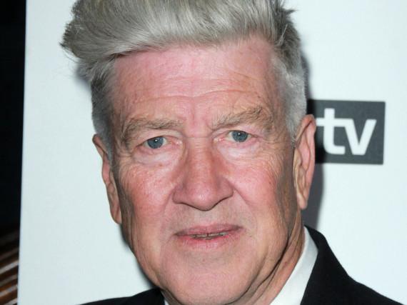 David Lynch versammelt für