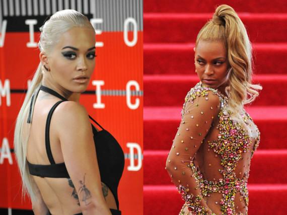 Ist Rita Ora (li.) die Betrüger-