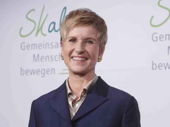 Susanne Klatten bei der Vorstellung der SKala-Initiative in Berlin