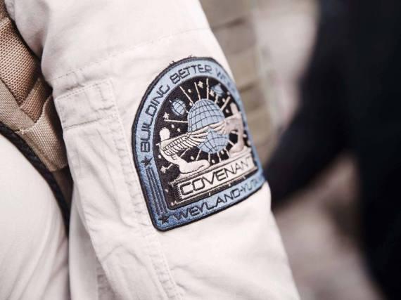 Das Abzeichen des Weyland-Yunati-Konzerns aus dem Alien-Universum