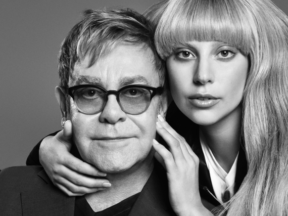 Gemeinsam für eine bessere Welt: Elton John und Lady Gaga