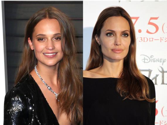 Alicia Vikander ist Angelina Jolies