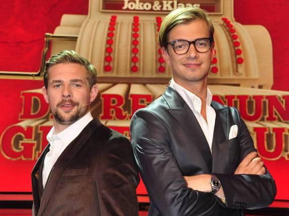 Klaas Heufer-Umlauf und Joko Winterscheidt wagen in