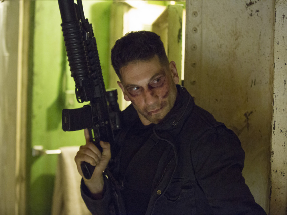 Jon Bernthal alias Frank Castle in