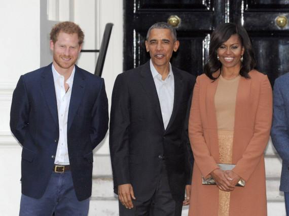 Prinz Harry und die Obamas scheinen im Zwist zu sein