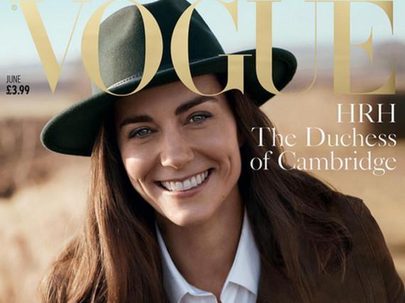 Herzogin Kate auf dem Cover der britischen