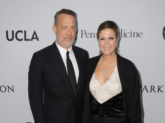 Tom Hanks ist seit 1988 in zweiter Ehe mit Rita Wilson verheiratet