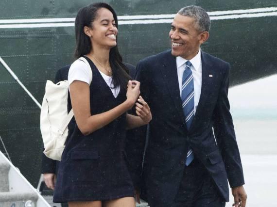 Malia Obama nimmt sich vor ihrem Studium ein Jahr Auszeit