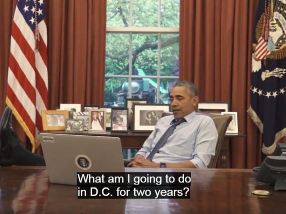Präsident Obama denkt über seine Zukunft in Washington nach