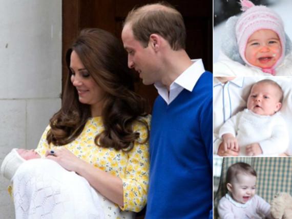 Die niedlichsten Bilder von Prinzessin Charlotte zum 1. Geburtstag