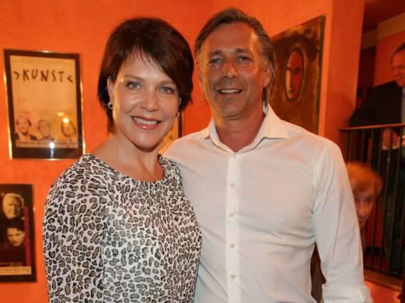 Janina Hartwig und Reiner Fischer sind nicht mehr länger zusammen
