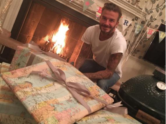 David Beckham feierte am 2. Mai seinen 41. Geburtstag
