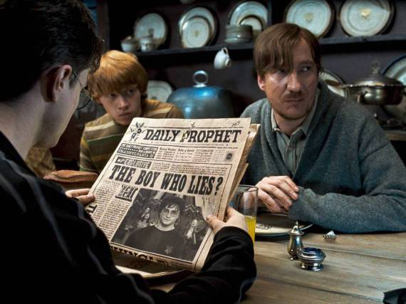 David Thewlis als Remus Lupin in