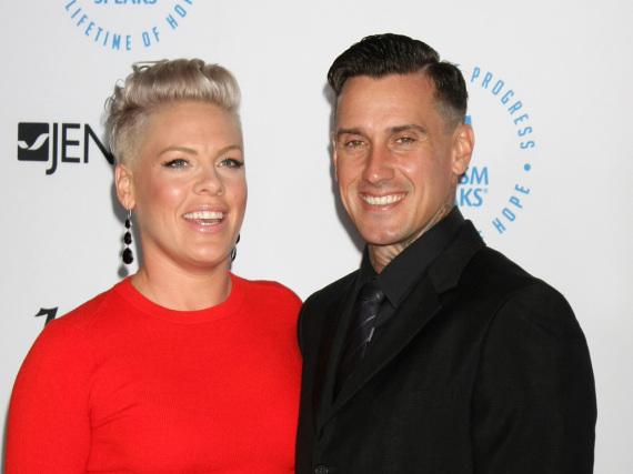 Pink und Carey Hart sind seit zehn Jahren verheiratet und haben eine gemeinsame Tochter