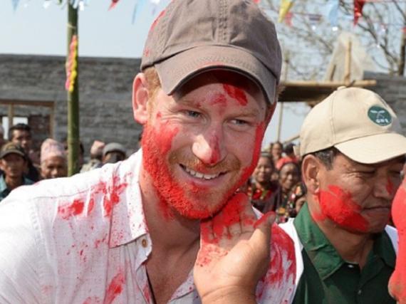 Prinz Harry auf seiner Nepal-Reise