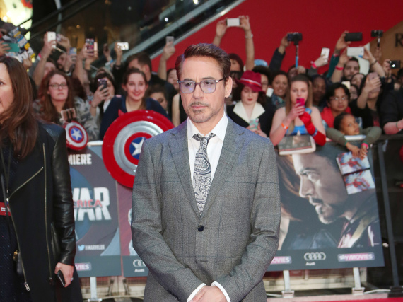 Robert Downey Jr. ist  als