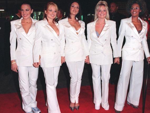 Die Spice Girls bei einem Auftritt in Los Angeles
