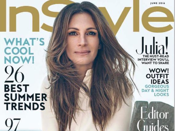 Schauspielerin Julia Roberts auf dem Cover der US-Ausgabe von