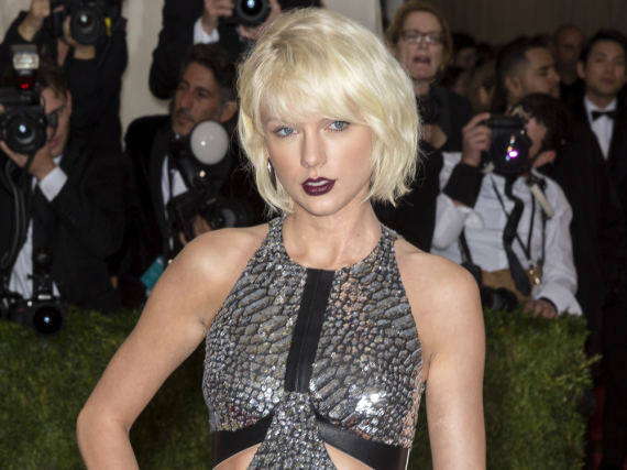 Millionenschwer und stets im Rampenlicht: Taylor Swift am Montag bei einer Gala in New York