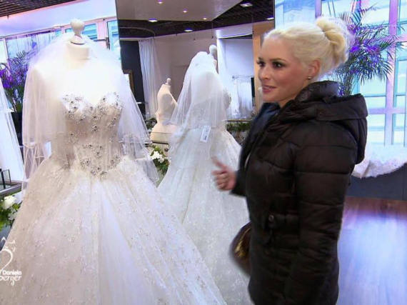 Daniela Katzenberger auf Brautkleidsuche