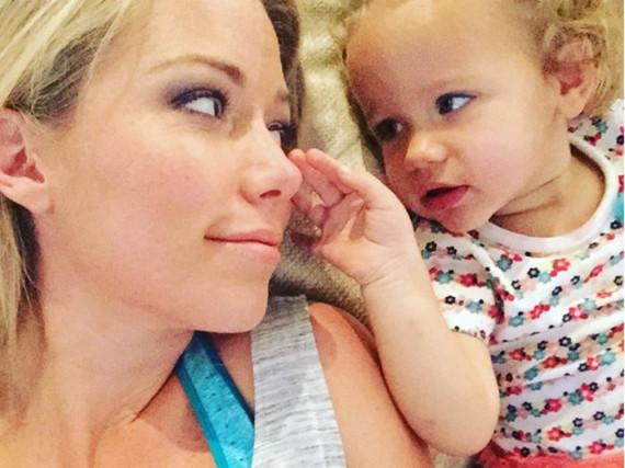 Instagram-Posts zum Muttertag: Kendra Wilkinson mit ihrer Tochter Alijah