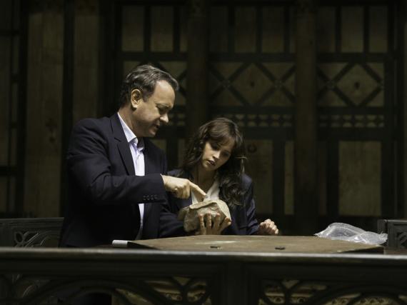 Robert Langdon (Tom Hanks) und Dr. Sienna Brooks (Felicity Jones) in