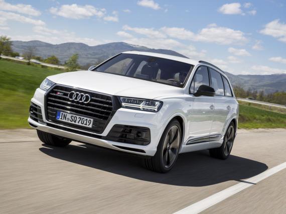 Audi SQ7 4.0 TDI: Schwergewicht mit Sportwagen-Werten