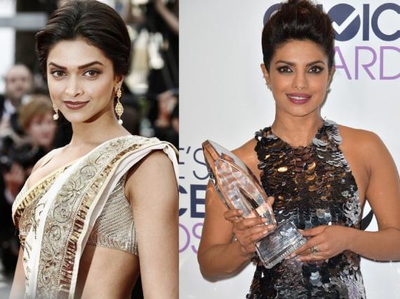 Deepika Padukone (l.) und Priyanka Chopra sollen sich angeblich um die Rolle des nächsten Bond-Girls beworben haben