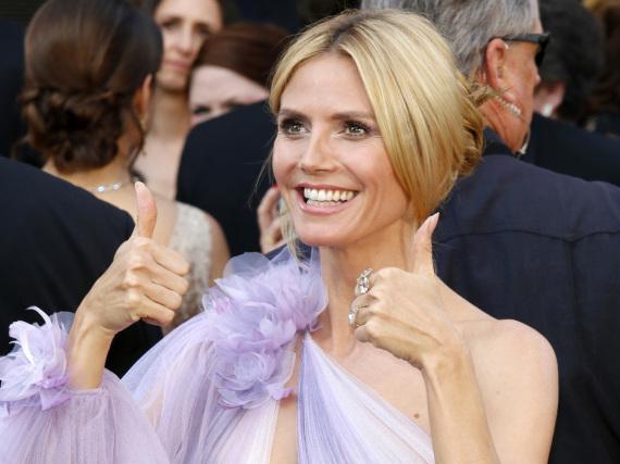 Heidi Klum erfreut sich immer noch großer Beliebtheit
