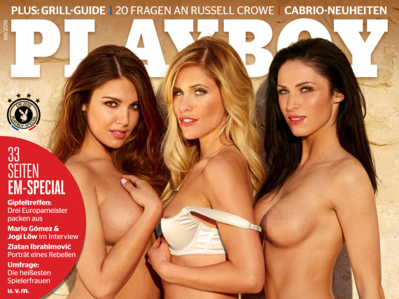 Das Juni-Cover des Männermagazins