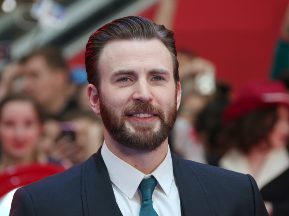 Chris Evans Ende April bei der