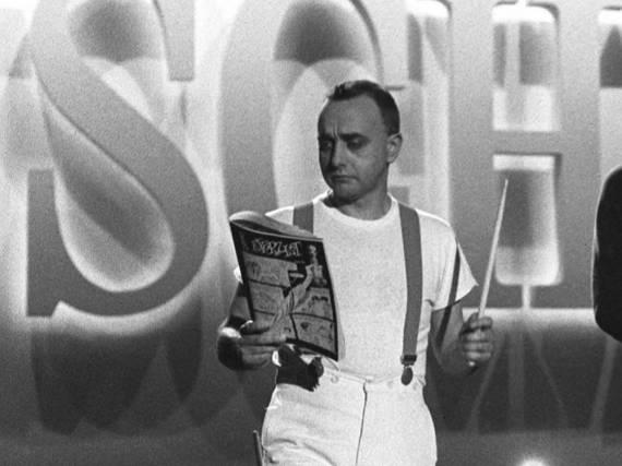 Peter Behrens 1983 bei einem Fernsehauftritt