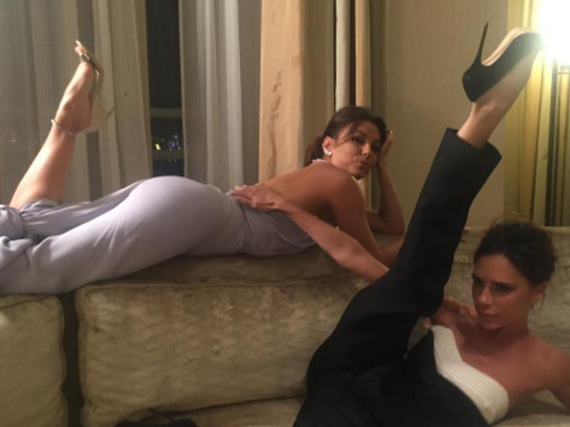Victoria Beckham und Eva Longoria hatten ihre private After-Show-Party