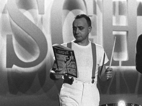 Peter Behrens 1983 während eines Fernsehauftritts