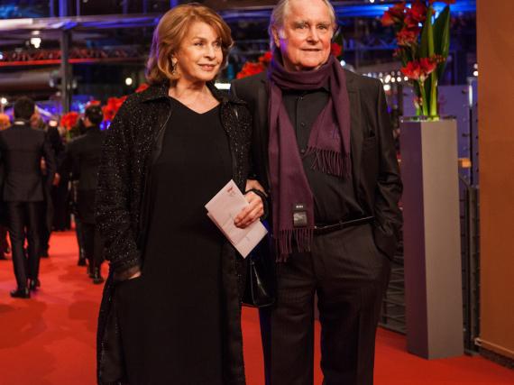 Senta Berger und Michael Verhoeven auf der Berlinale