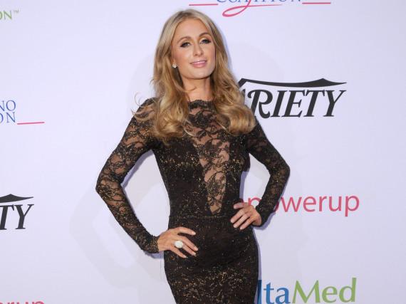 Paris Hilton bei der