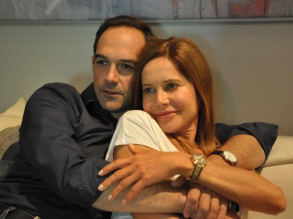 Mike (Harry Blank) und Trixi Preissinger (Doreen Dietel)