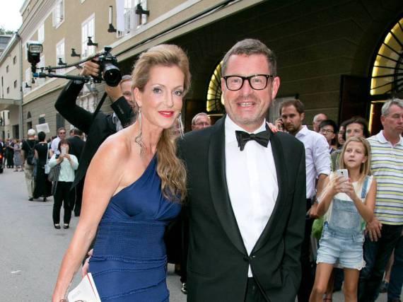 Kai Diekmann mit seiner Gemahlin Katja Kessler