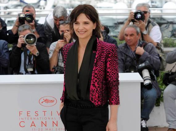 Juliette Binoche legte in Cannes einen zeitlos-eleganten Auftritt hin